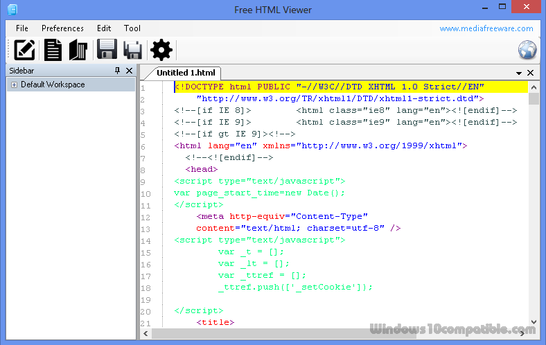 Free HTML Viewer 1 0 Free download